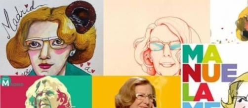 Pop Art para Manuela Carmena