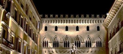 Rocca Salimbeni,sede del Monte dei Paschi di Siena