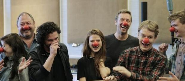 Game of Thrones y Coldplay. Red Nose Day USA