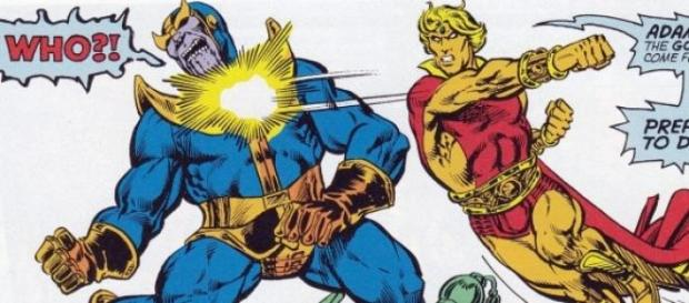 ¿Serán Thanos y Adam Warlock 'Guardianes'?