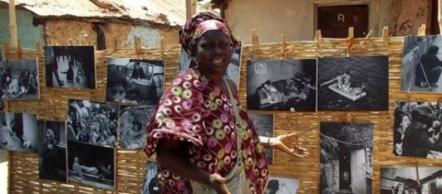 muestras fotograficas en África
