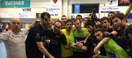 A equipa do ABC de Braga.