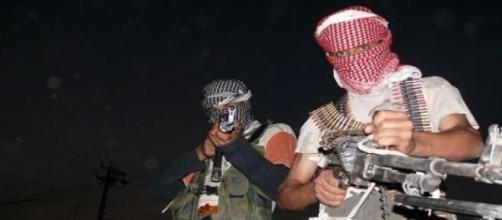 Combatientes armados del Estado Islámico