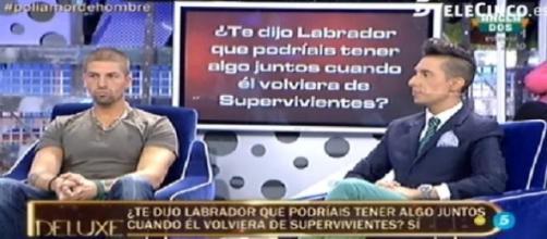 Labrador y Jesús Reyes ante el polígrafo