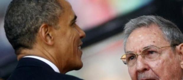 Barack Obama y Raúl Castro, un encuentro histórico