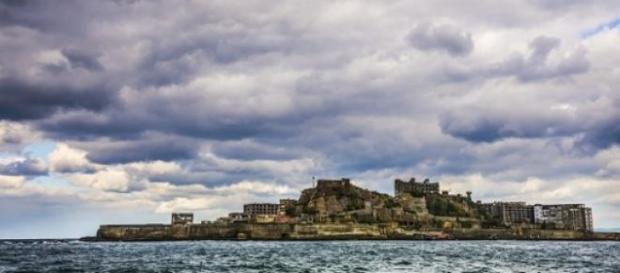 Isla Espíritu en Japón en imagen de archivo