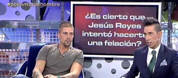 Labrador y Jesús Reyes en 'Sálvame Deluxe'