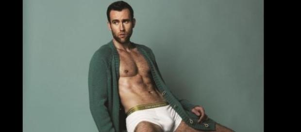 Matthew Lewis inside the magazine