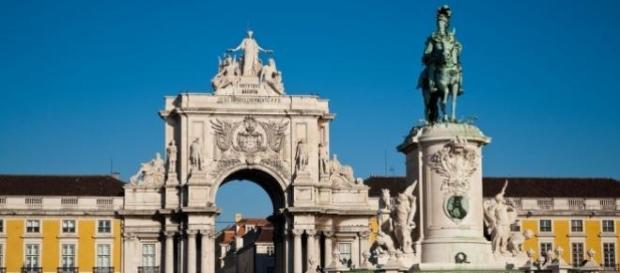 Praça do Comércio e Arco da Rua Augusta