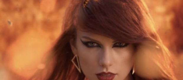 Taylor Swift arrasou no seu videoclip.