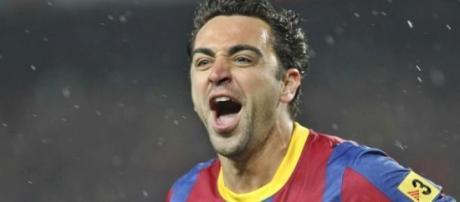 Xavi, ícono de la historia del Barcelona.