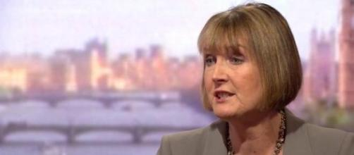 Acting Labour leader Harriet Harman
