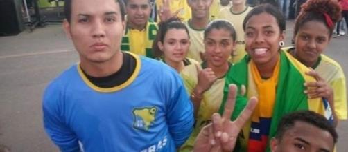 Los campeones de la delegación brasileña