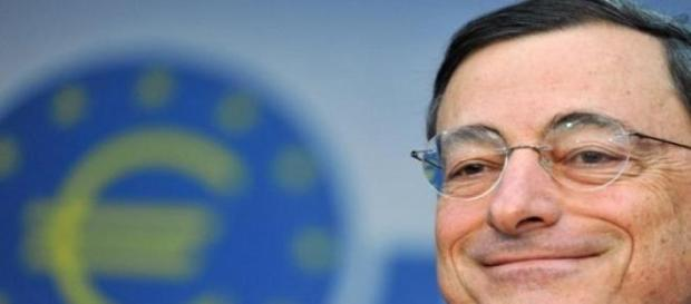 Il presidente BCE Mario Draghi