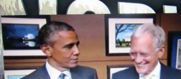 Letterman com Obama: despedida