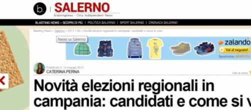 come si vota regionali campania