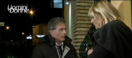 Gemma e Giorgio in un'esterna a Uomini e Donne