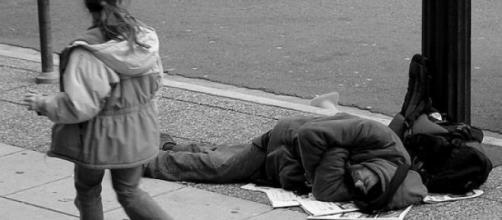 Homeless people have to sleep somewhere.