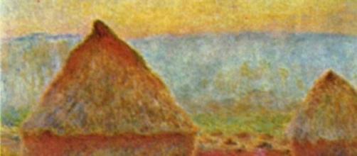 I celeberrimi covoni di Monet.