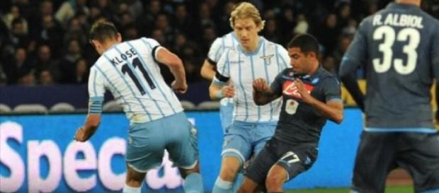 Napoli-Lazio in diretta live dalle 20,45