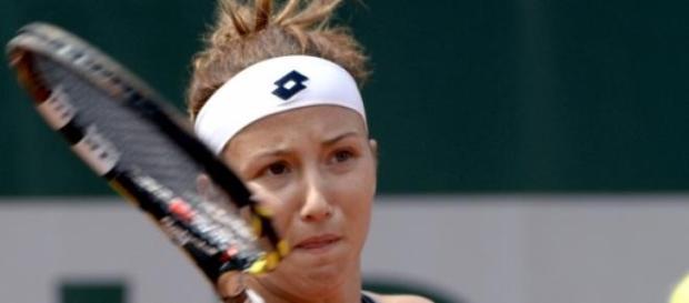 Paula Kania w I rundzie Roland Garros