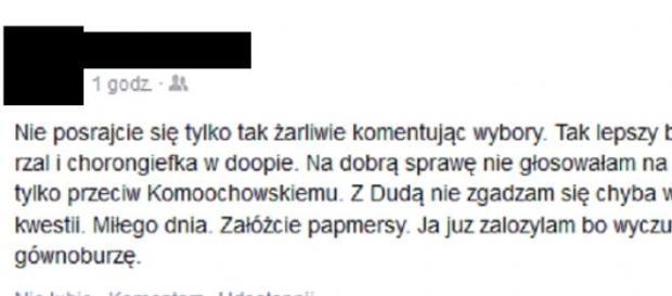 Polacy jak zwykle są niezgodni, Facebook.pl