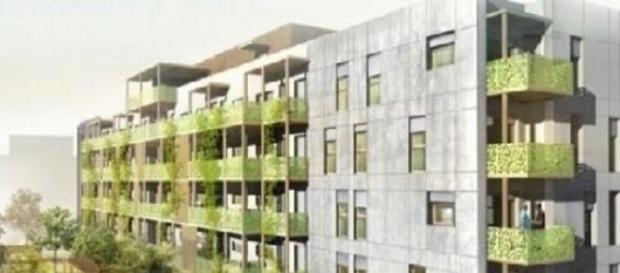 Un immeuble pour locataires