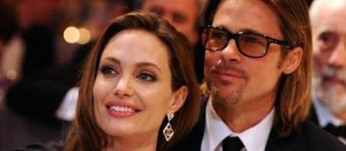 Angelina Jolie et Brad Pitt.