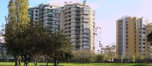 Jardim da Quinta das Conchas no Lumiar.