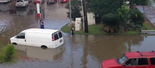 Las inundaciones en Texas