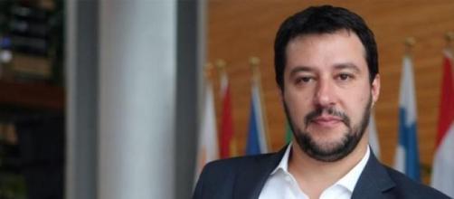 Matteo Salvini, segretario della Lega Nord