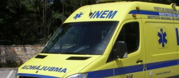 Ferido grave em acidente, em Albergaria-a-Velha