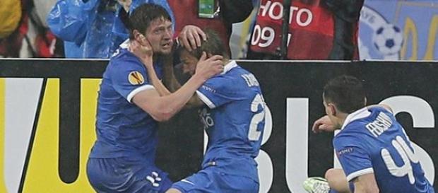 Le Dnipro a éliminé le Napoli en demi-finales