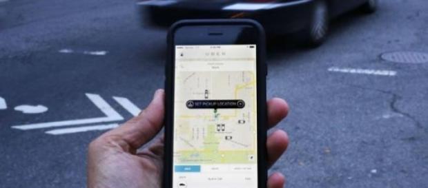 Les chauffeurs de taxi ont protesté contre Uber.