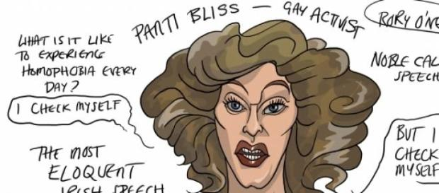Panti Bliss, Irish gay activist