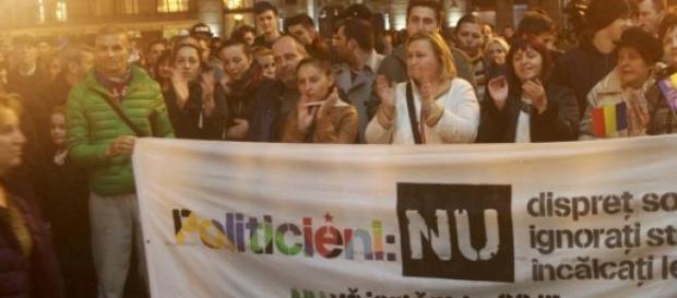 protestele diasporei nu si-au atins tinta