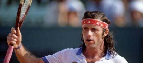 Guillermo Vilas, la mejor raqueta argentina
