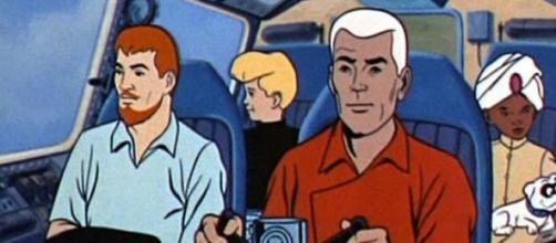 Jonny Quest's team as in the original cartoon