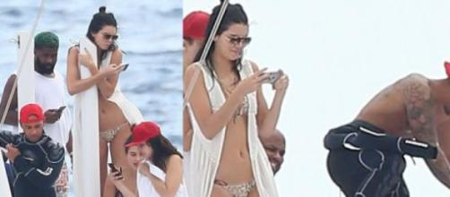 Kendall Jenner exibiu a boa forma física