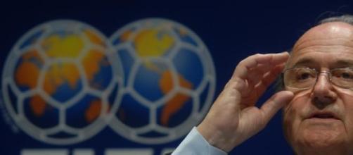 Presidente de la FIFA, Joseph Blatter