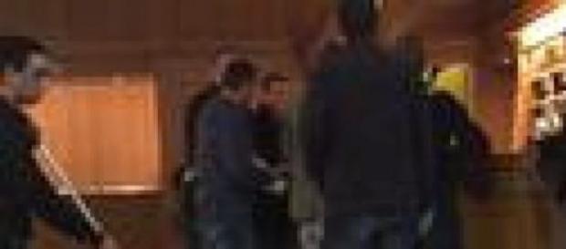 Le prime immagini dell'arresto
