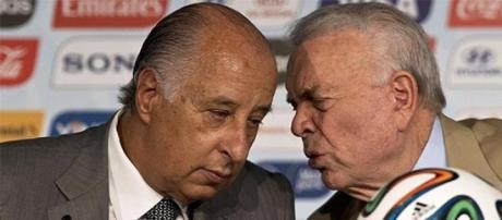 Del Nero e Marin são acusados de corrupção