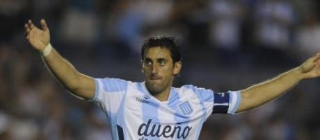 Diego Milito quiere seguir haciendo historia