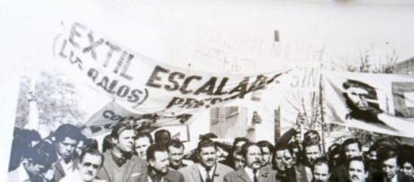 Los estudiantes siguieron a la vanguardia obrera