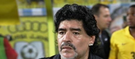 Maradona habla de las elecciones en la FIFA
