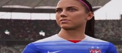 Alex Morgan, delantera de Estados Unidos