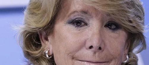 Esperanza Aguirre, candidata del PP a la alcaldía
