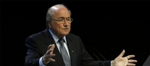 Joseph Blatter, presidente della Fifa dal 1998