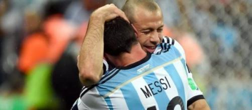 Lionel Messi e Mascherano
