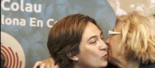 Manuela Carmena y Ada Colau en imagen de archivo.